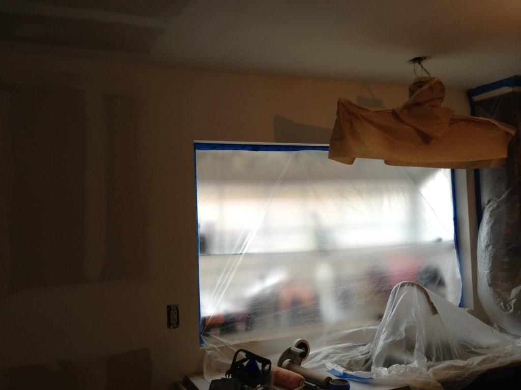 pittsburg ca bay window sheetrock finishing
