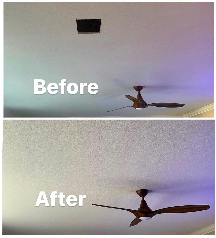 ceiling patch repair